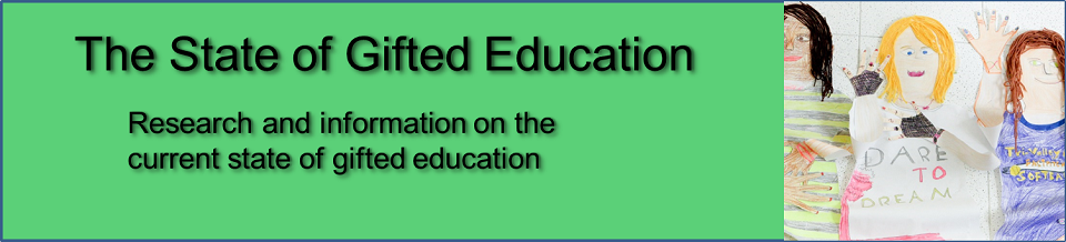The State of Gifted Education